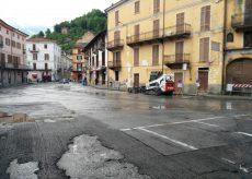 La Guida - Caraglio, asfaltatura di piazza Cavour e via Bernezzo