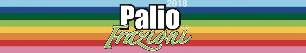 Palio delle Frazioni 2018, il logo