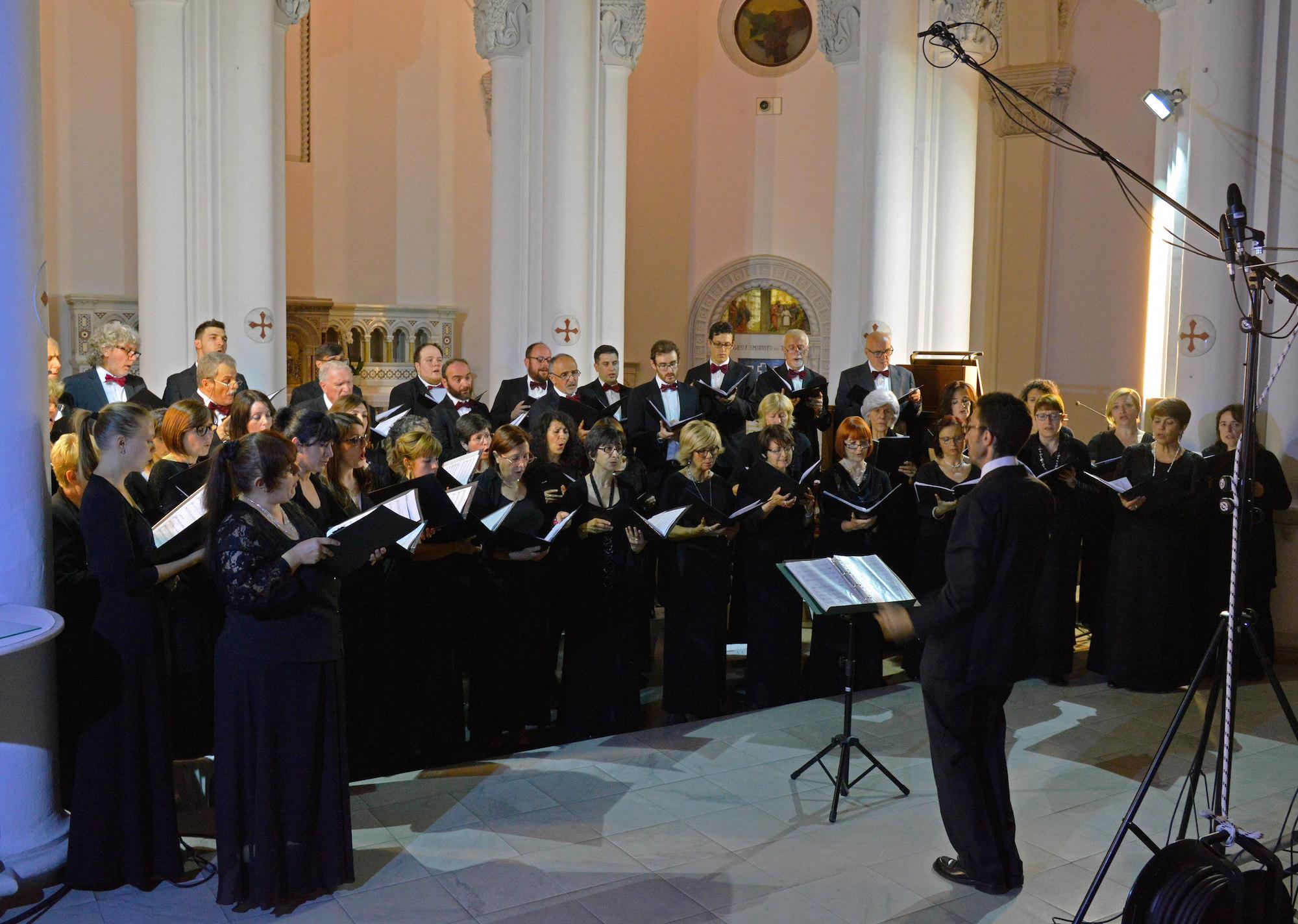 Il Coro della Società Corale Città di Cuneo