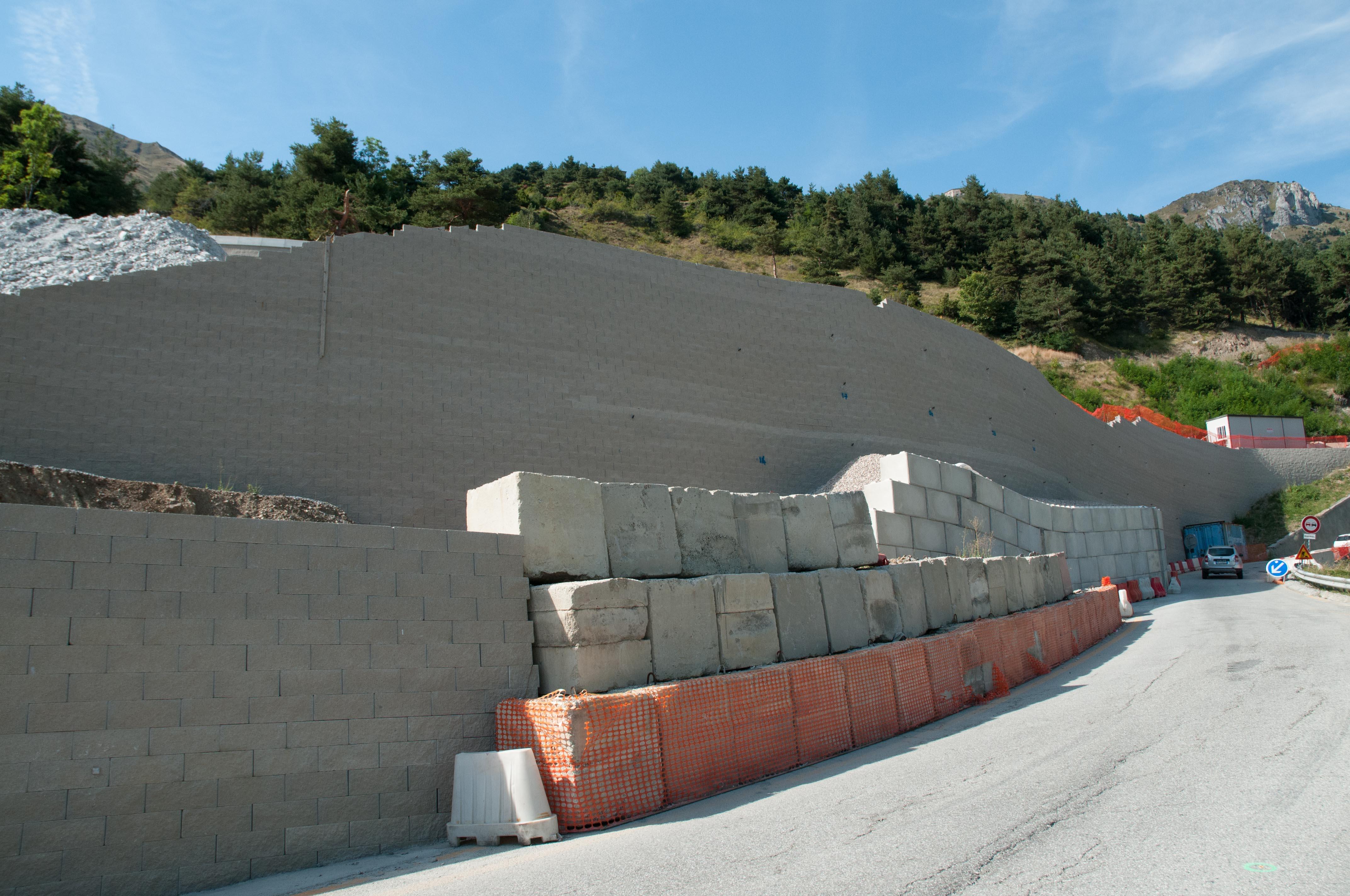 Muro del Colle di Tenda