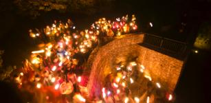 La Guida - Passeggiata notturna a lume di candela