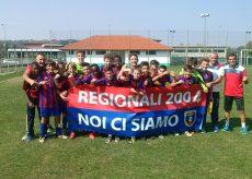 La Guida - Giovanissimi 2004: festa-salvezza per Centallo e Olmo