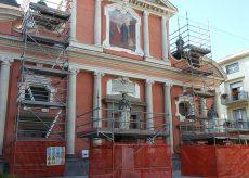 La Guida - Boves, iniziati i lavori di restauro della parrocchiale