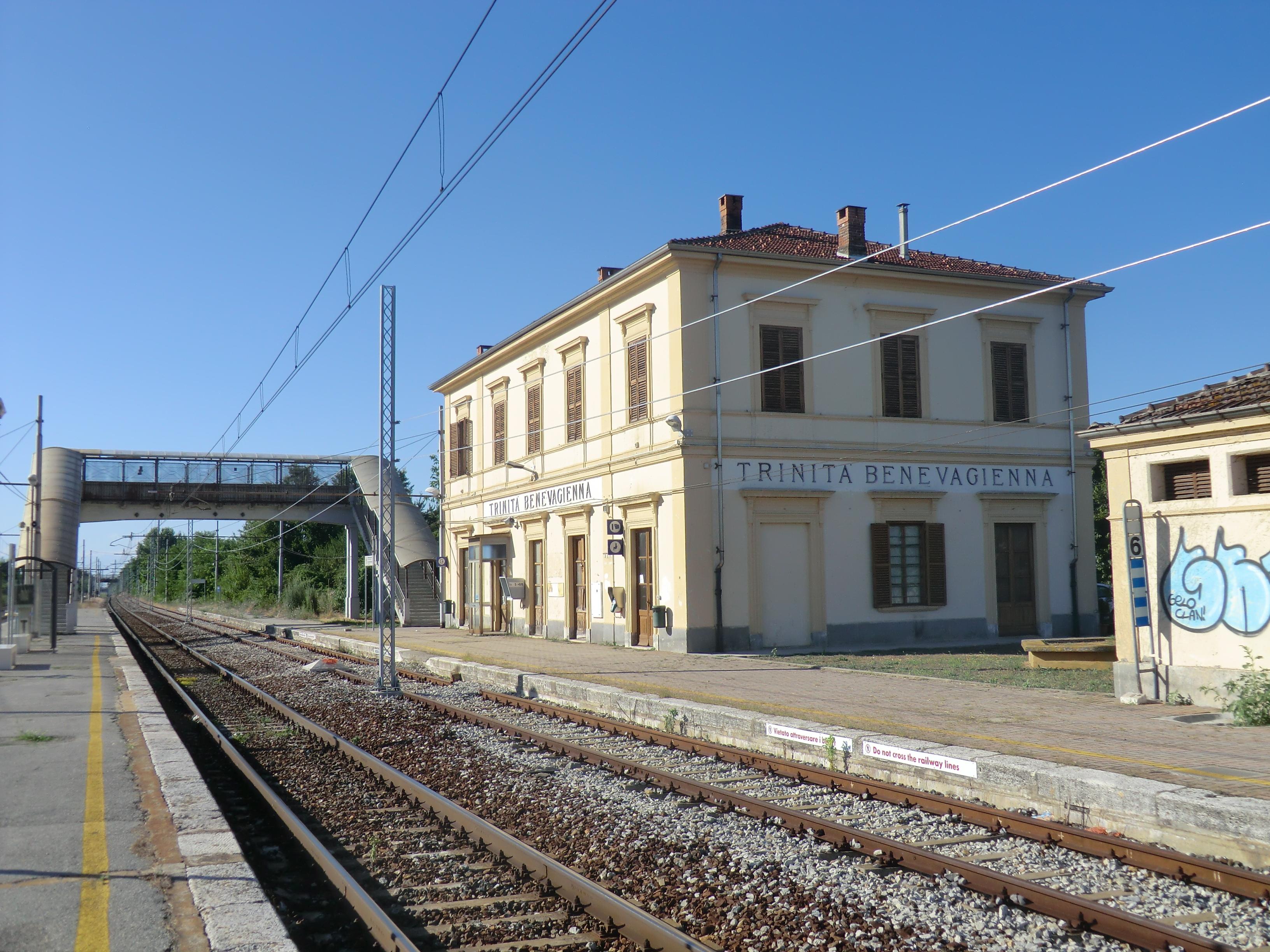 La stazione ferroviaria di Trinità