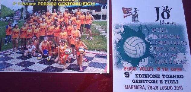 La Guida - A Marmora il torneo di beach volley genitori/figli