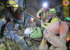 La Guida - Lo speleologo è stato salvato