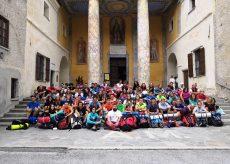 La Guida - Settanta giovani sulla via per Sant'Anna di Vinadio