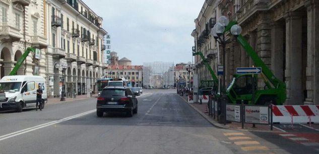 La Guida - Corso Nizza chiusa per manifestazione sportiva