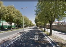 La Guida - Intervento di manutenzione stradale in corso Monviso