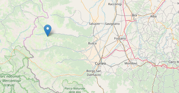 La Guida - Scossa di terremoto magnitudo 3.0 a Elva