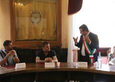 La Guida - Il ministro Centinaio inaugura l'info point a Valdieri