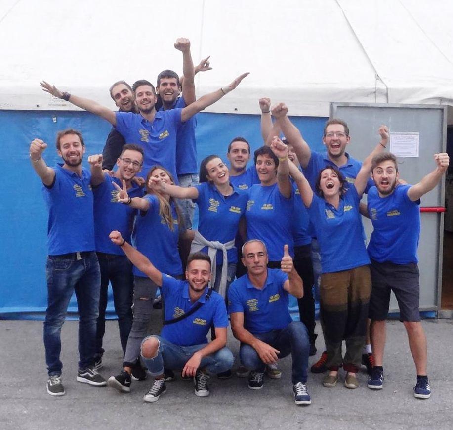 Il gruppo della Pro Loco di San Biagio