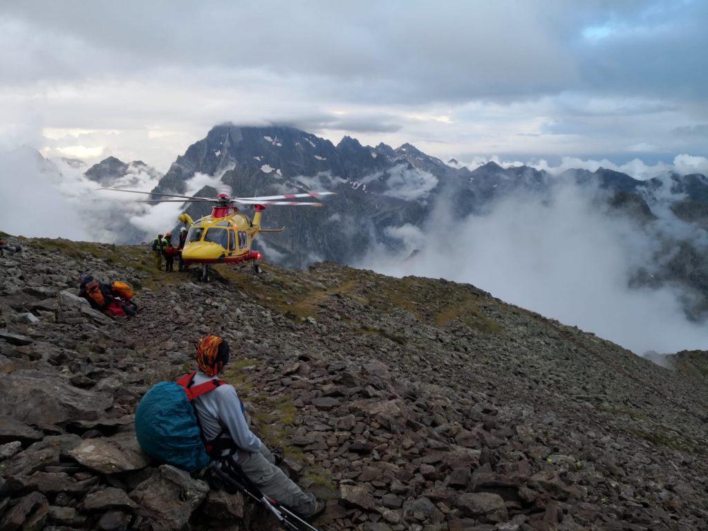 Elisoccorso in alta valle Gesso, soccorre donna caduta