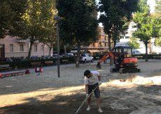 La Guida - Cuneo, lavori per sistemare l'area giochi in corso Galileo Ferraris