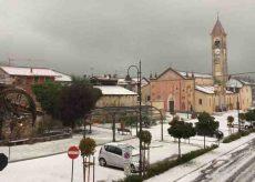 La Guida - Temporale e grandine a Caraglio, Valgrana e Dronero