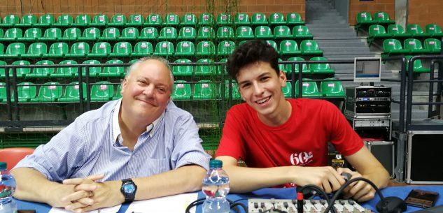 La Guida - Mario Piccioni e Francesco Pinardi speaker dell'A2 maschile di volley