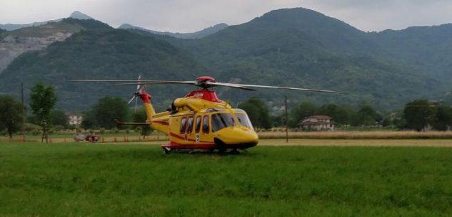 La Guida - Scontro auto-moto verso Sant'Anna di Vinadio, un ferito grave