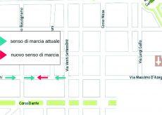 La Guida - Modifica del senso di marcia in un tratto di via Cavallotti