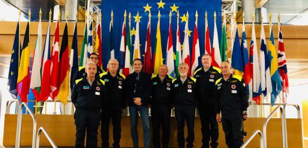 La Guida - La Protezione Civile cuneese in visita a Strasburgo