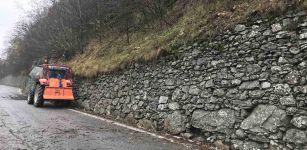 La Guida - Messa in sicurezza la strada che porta a Casteldefino