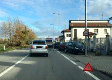 La Guida - Scontro tra auto, rallentamenti tra Confreria e San Defendente