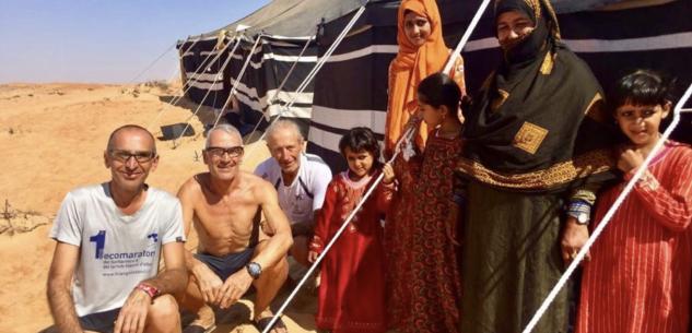 La Guida - Roberto Cravero e Pino Filippelli nell'Oman Desert Marathon