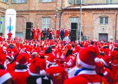 La Guida - Due corse di Babbi Natale a Caraglio e Mondovì