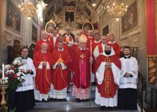 La Guida - Il Vescovo a Borgo per la festa patronale