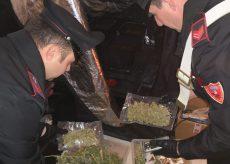 La Guida - Arrestato dopo un controllo in auto: 2,3 chili di marijuana