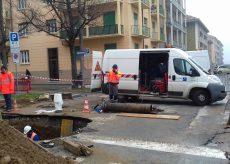 La Guida - È tornata l'acqua nelle case del centro di Cuneo