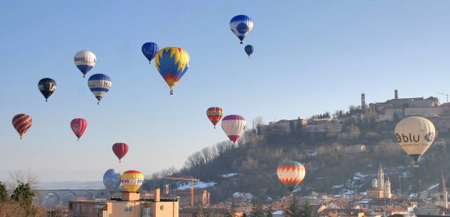 La Guida - Mondovì capitale italiana delle mongolfiere per tre giorni