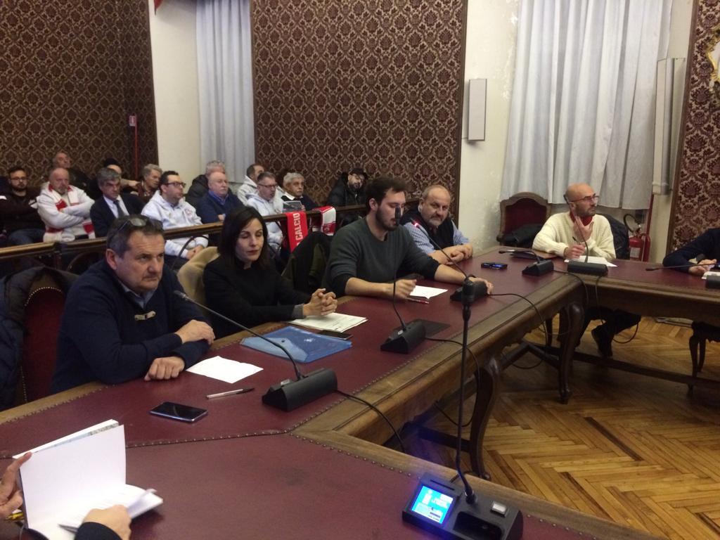 Le tre commissioni comunali riunite e l'assessore Cristina Clerico