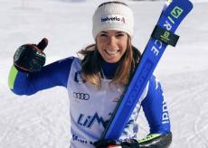 La Guida - Marta Bassino in gara sulla pista di Kronplatz