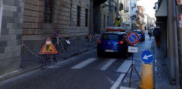La Guida - A Busca un altro cantiere in via Umberto