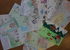 La Guida - In Russia i disegni dei bambini sulla Resistenza in valle Maira