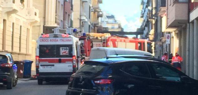 La Guida - Cuneo, intervento di Vigili del fuoco per un'anziana in casa