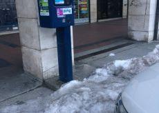 """La Guida - """"Pago il parcheggio, ma con il rischio di cadere sul ghiaccio"""""""