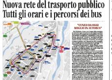 """La Guida - Confreria chiede un """"ripensamento"""" sulla nuova rete del trasporto pubblico"""