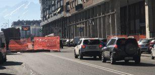 La Guida - Lavori dell'Italgas in corso Nizza alto
