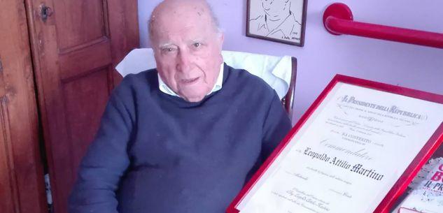 La Guida - Sergio Mattarella ha nominato Commendatore l'ex senatore Martino