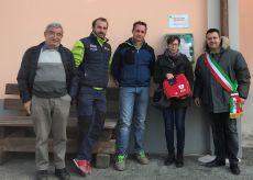 La Guida - Un nuovo defibrillatore automatico donato a Brossasco