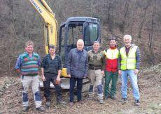 La Guida - Operai forestali della Regione al lavoro a Verzuolo