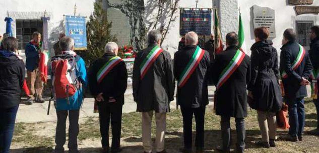 La Guida - Ricordato l'eccidio dei nove  partigiani caduti al Santuario di Valmala