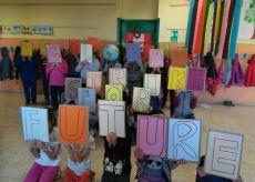 """La Guida - I bambini e i ragazzi della Valle Varaita impegnati per chiedere la """"giustizia climatica"""""""