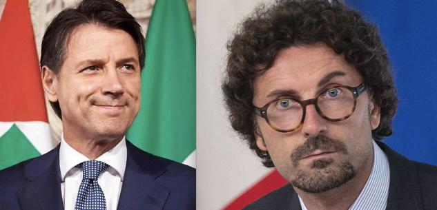 La Guida - Conte e Toninelli sui cantieri dell'Asti-Cuneo