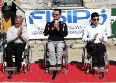 La Guida - Aldo Baudino e Stefano Viglione sul podio nella Coppa Italia di sci paralimpico