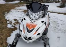 La Guida - In motoslitta nei boschi sopra Demonte, multa e sequestro