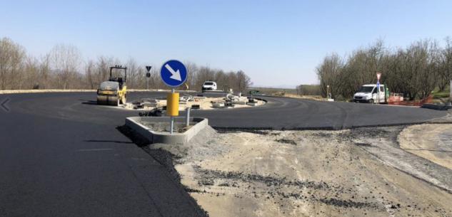 La Guida - Nuova rotatoria per raggiungere l'ospedale di Verduno