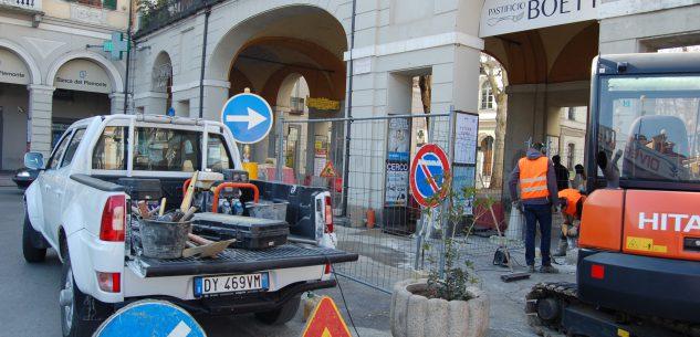 La Guida - Il semaforo in piazza Galimberti sarà attivato nella mattina di mercoledì 27 marzo