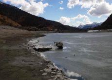 La Guida - C'è poca acqua a Pontechianale affiora la borgata sommersa